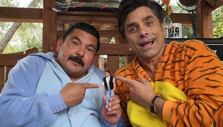 GUILLERMO RODRIGUEZ, JOHN STAMOS
