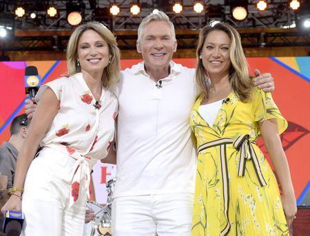 AMY ROBACH, SAM CHAMPION, GINGER ZEE