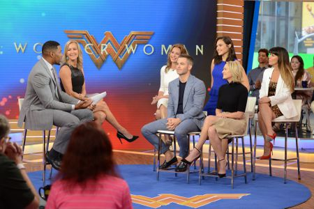 MICHAEL STRAHAN, LARA SPENCER, CONNIE NIELSEN, CHRIS PINE, GAL GADOT, ROBIN WRIGHT, PATTY JENKINS