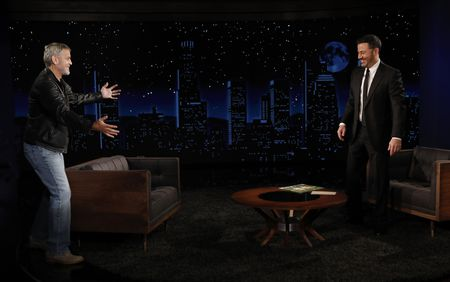 GEORGE CLOONEY, JIMMY KIMMEL