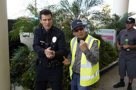 NATHAN FILLION, MICHAEL GOI (DIRECTOR)