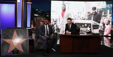 "CURTIS ""50 CENT"" JACKSON, JIMMY KIMMEL"