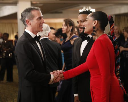 MAYOR ERIC GARCETTI, ANTHONY ANDERSON, TRACEE ELLIS ROSS
