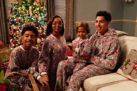 MILES BROWN, MARSAI MARTIN, AUGUST AND BERLIN GROSS, MARCUS SCRIBNER
