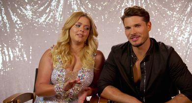 "33. Sasha Pieterse & Gleb Savchenko, On why they're calling themselves the ""A-Team"""