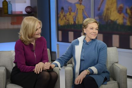 DIANE SAWYER, JULIE ANDREWS