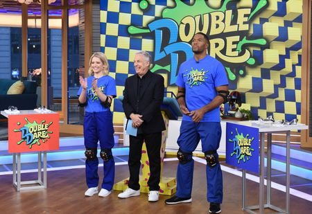 SARA HAINES, MARC SUMMERS, MICHAEL STRAHAN