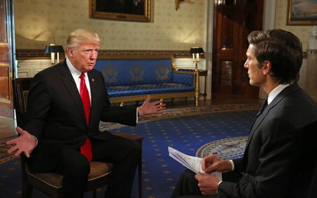 PRESIDENT DONALD TRUMP, DAVID MUIR