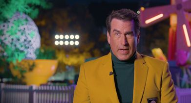08. Rob Riggle, Commentator, On the mix of contestants