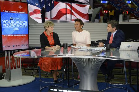 COKIE ROBERTS, ROBIN ROBERTS, GEORGE STEPHANOPOULOS