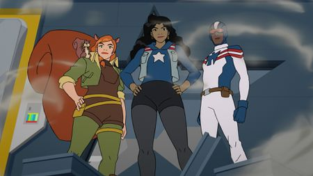 TIPPY-TOE, SQUIRREL GIRL, AMERICA CHAVEZ, PATRIOT