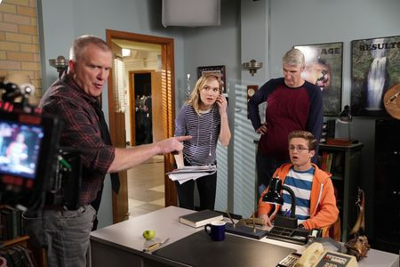 ANTHONY MICHAEL HALL, NORA KIRKPATRICK (DIRECTOR), SEAN GIAMBRONE