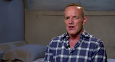 "02. Clark Gregg, ""Sarge"", On the challenges of portraying a different character"