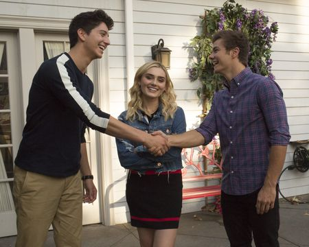 MILO MANHEIM, MEG DONNELLY, PEYTON MEYER