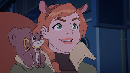 TIPPY-TOE, SQUIRREL GIRL