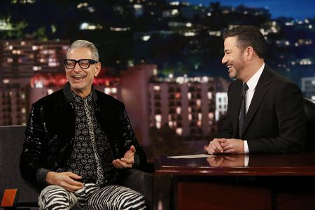 JEFF GOLDBLUM, JIMMY KIMMEL
