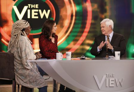 WHOOPI GOLDBERG, ABBY HUNTSMAN, NEWT GINGRICH