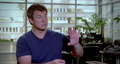 """04. Nathan Fillion, """"John Nolan"""" On the police training for the show"""