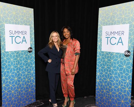 KAREY BURKE (PRESIDENT, ABC ENTERTAINMENT), TIFFANY HADDISH (HOST/EXECUTIVE PRODUCER)