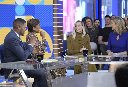 MICHAEL STRAHAN, ROBIN ROBERTS, MARGOT ROBBIE, LARA SPENCER