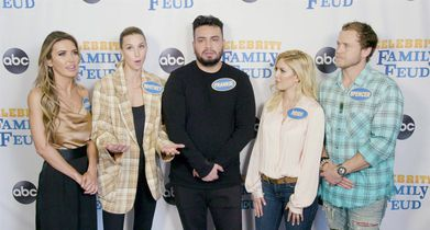 """Celebrity Family Feud"" Season 6 EPK - 23. The Hills: New Beginnings, Celebrity Team, On the charity they're competing for"