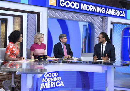 JANAI NORMAN, AMY ROBACH, GEORGE STEPHANOPOULOS, ZACHARY KIESCH