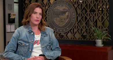 "03. Cobie Smulders, ""Dex Parios"", On the show's unique take on procedurals"