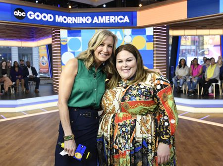 LARA SPENCER, CHRISSY METZ
