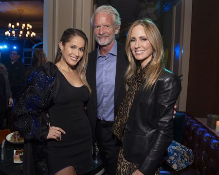 JAINA LEE ORTIZ, CHRISTOPHER LLOYD (EXECUTIVE PRODUCER), DANA WALDEN (CHAIRMAN, DISNEY TELEVISION STUDIOS AND ABC ENTERTAINMENT)