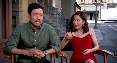 "02. Constance Wu and Randall Park, ""Fresh Off the Boat"" On working with the other TGIF casts"