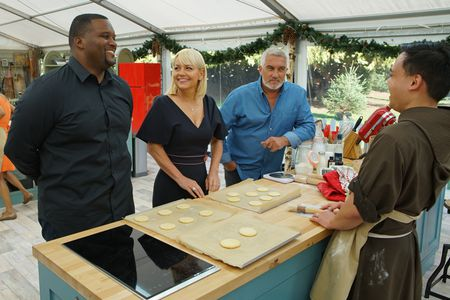 """ANTHONY """"SPICE"""" ADAMS, SHERRY YARD, PAUL HOLLYWOOD, BROTHER ANDREW"""