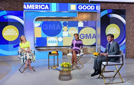 AMY ROBACH, ROBIN ROBERTS, GEORGE STEPHANOPOULOS
