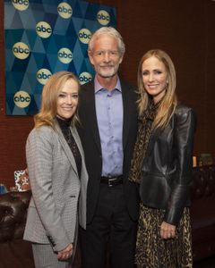 KAREY BURKE (PRESIDENT, ABC ENTERTAINMENT), CHRISTOPHER LLOYD (EXECUTIVE PRODUCER), DANA WALDEN (CHAIRMAN, DISNEY TELEVISION STUDIOS AND ABC ENTERTAINMENT)