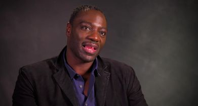 """08. Adewale Akinnuoye-Agbaje, """"Detective John Bird,"""" On what attracted him to the role"""