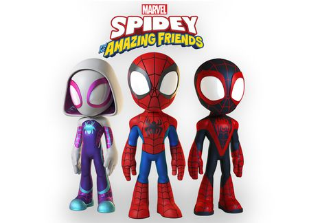 GHOST-SPIDER, SPIDER-MAN AND MILES MORALES