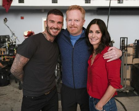 DAVID BECKHAM, JESSE TYLER FERGUSON, COURTENEY COX