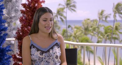 """06. Lea Michele, """"Olivia Anderson,"""" On filming on location in Hawaii"""