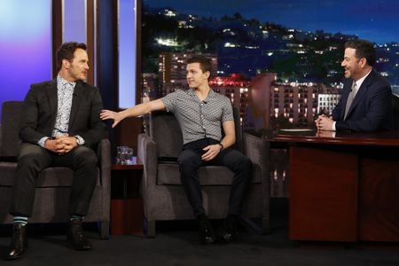 CHRIS PRATT, TOM HOLLAND, JIMMY KIMMEL