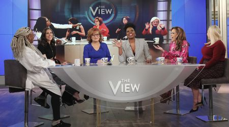 WHOOPI GOLDBERG, ABBY HUNTSMAN, JOY BEHAR, LESLIE JONES, SUNNY HOSTIN, MEGHAN MCCAIN