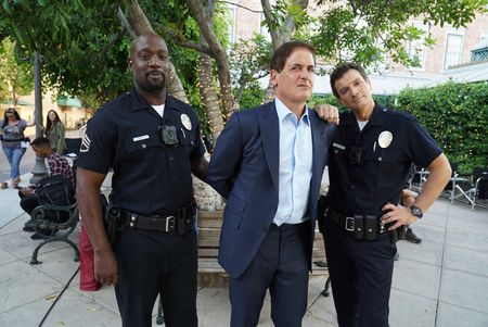 RICHARD T. JONES, MARK CUBAN, NATHAN FILLION