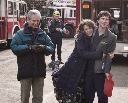 DAVID SHORE (DIRECTOR/EXECUTIVE PRODUCER), PAIGE SPARA, FREDDIE HIGHMORE