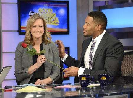 LARA SPENCER, MICHAEL STRAHAN