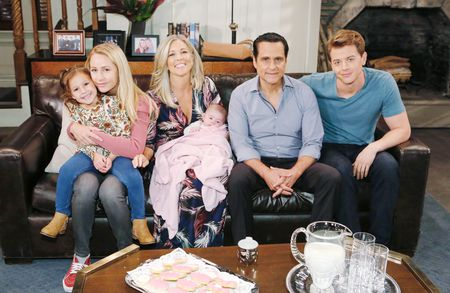 EDEN MCCOY, AVA AND GRACE SCAROLA, LAURA WRIGHT, MAURICE BENARD, CHAD DUELL