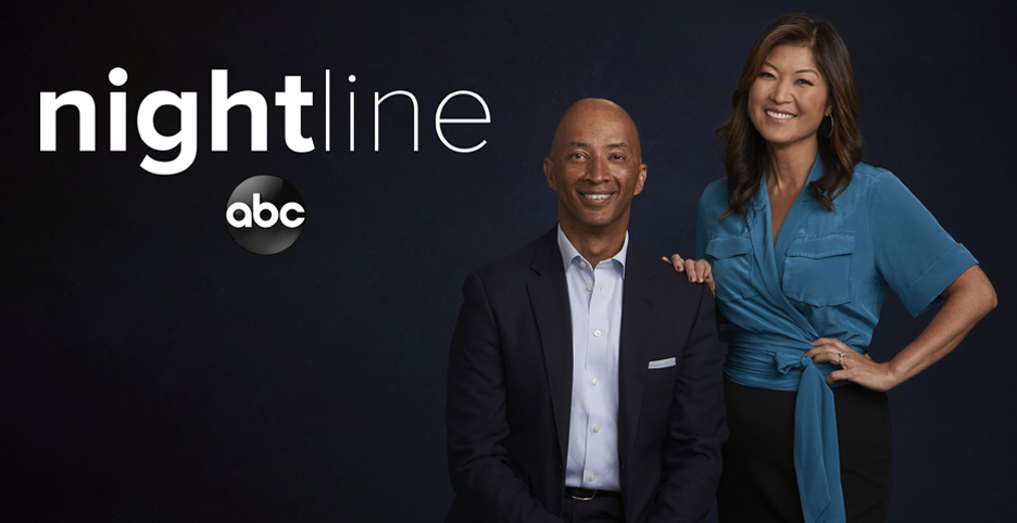 'Nightline' Ranks No. 1 in Total Viewers, Adults 25–54 and Adults 18–49 for Week of March 29