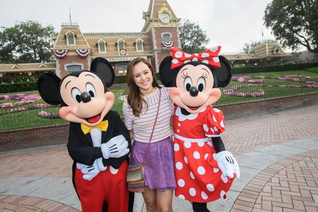 MICKEY MOUSE, HAYLEY ORRANTIA, MINNIE MOUSE