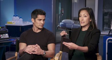 "06. Nicholas Gonzalez, ""Dr. Neil Melendez"", Christina Chang, ""Dr. Audrey Lim"", On season 3 diving deeper into each character"