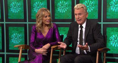 02.Pat Sajak, Host, Vanna White, Co-Host, On the celebrity contestants