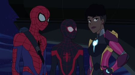 SPIDER-MAN, KID ARACHNID, IRONHEART