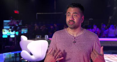 06. Kal Penn, Celebrity Guest, On his strategy for the show
