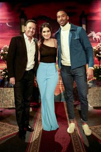CHRIS HARRISON, ASHLEY IACONETTI HAIBON, MATT JAMES